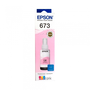 TINTA EPSON T673 620 LIGHT MAGENTA L800 70ML