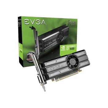 PLACA DE VIDEO EVGA GT1030 2GB DD5 02G-P4-6333-KR