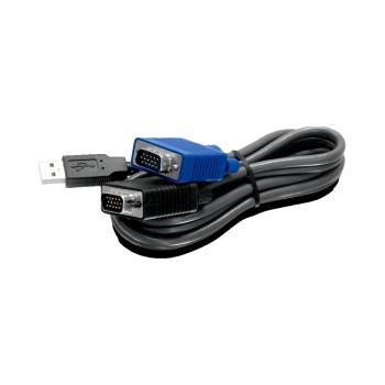 NETWORKING CABLE KVM USB/VGA 1.8MT-TRENDNET TK-CU0