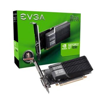PLACA DE VIDEO EVGA GT1030 2GB DD5 02G-P4-6332-KR