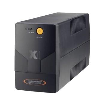 UPS 110V 1000VA 500W INFOSEC X1 LINEA INTERACTIVA