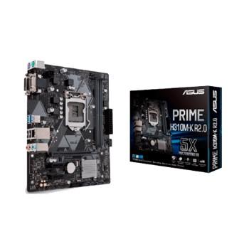PLACA MADRE ASUS 1151 PRIME H310M-K R2.0 V/S/R/DVI