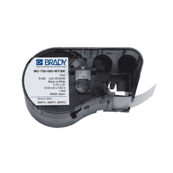 CONSUMIBLE BRADY CART.BMP41-(143372) VIN.IND.OUT-B