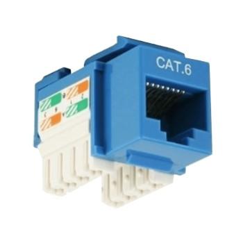 NETWORKING LANP CONEC. RJ45 HEMB. CAT.6 AZUL LP-XC