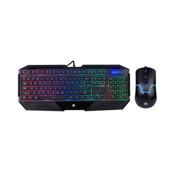 TECLADO CON MOUSE HP GAMER USB GK1100  MULTIMEDIA