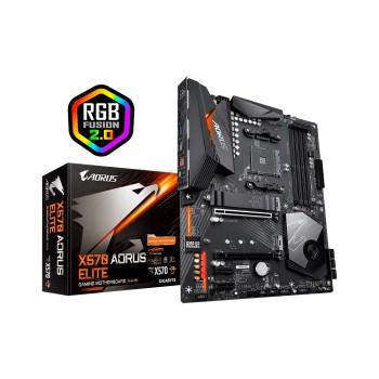 PLACA MADRE GIGABYTE AM4 X570 AORUS ELITE S/R/HDMI