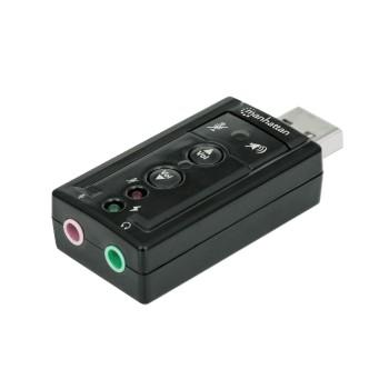 ADAPTADOR FONE+MIC/USB 2.0 152341 3D VIRTUAL DE 7.