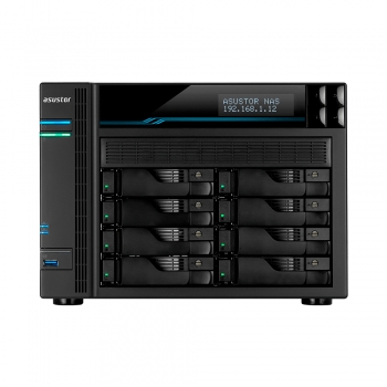 ALMACENAMIENTO NAS ASUSTOR AS6508T QC2.1/8BAY/8GB/