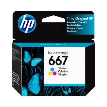 TINTA HP 667 COLOR 3YM78AL DJ 2775 2ML