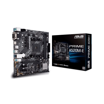 PLACA MADRE ASUS AM4 PRIME A520M-E V/S/R/HDMI/DVI/