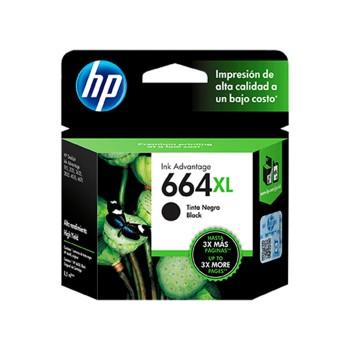 TINTA HP 664XL NEGRO F6V31AL 8,5ML