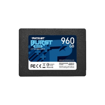 SSD SATA3 960GB PATRIOT BURST ELITE PBE960GS25SSDR