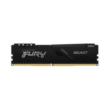 MEMORIA RAM DDR4 8GB 2666 KINGSTON FURY BEAST BK K