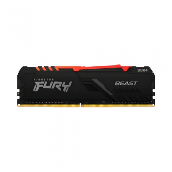 MEMORIA RAM DDR4 8GB 3600 KINGSTON FURY BEAST BK K