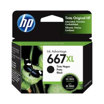 TINTA HP 667XL NEGRO 3YM81AL 8.5ML