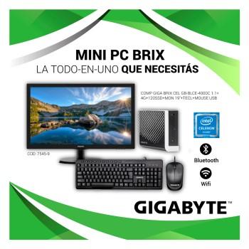 COMPUTADORA GIGA BRIX GB-BLCE-4000C CELERON 1.1/4G