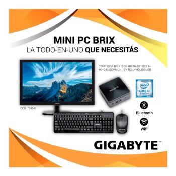 COMPUTADORA GIGA BRIX GB-BRI3H-10110 CORE i3 2.1/4