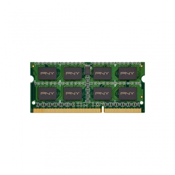 MEMORIA RAM P/NB DDR3 8GB 1600 PNY MN8GSD31600BL