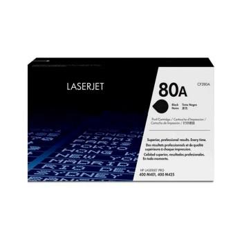 TONER HP 80A NEGRO CF280A 400 M401/400 M425